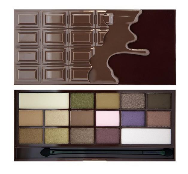 Makeup-Revolution-paleta-cieni-czekolada-i-heart-chocolate-zdjęcie1