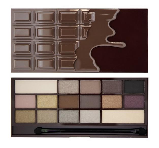 Makeup-Revolution-paleta-cieni-czekolada-death-by-chocolate-zdjęcie1