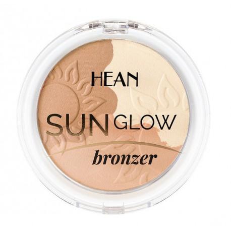 Hean-Sun-Glow-Bronzer-rozświetljący-puder-brązujący-11-delikatna-opalenizna