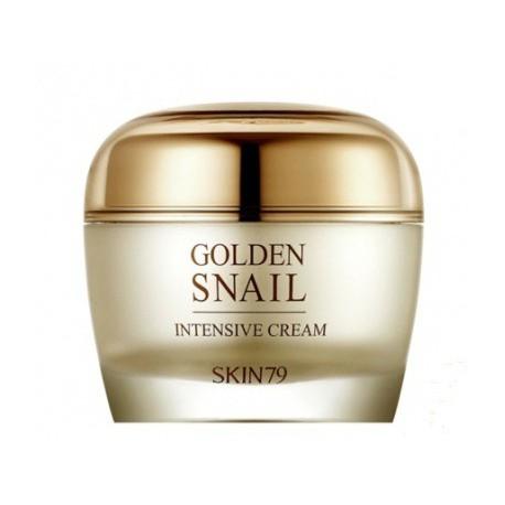 Skin79-Golden-Snail-Intensive-Cream-krem-ze-śluzem-ślimaka-i-24k-złotem-50g-koreańskie-kosmetyki-drogeria-internetowa-puderek.co