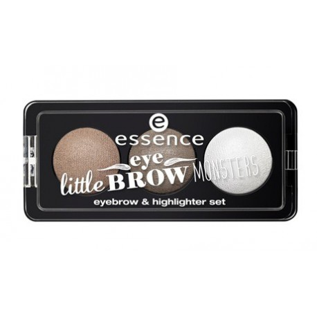 Essence-Little-Eyebrow-Monsters-Eyebrow-&-Highlighter-Set-01-paleta-cieni-do-brwi-rozświetlacz-drogeria-internetowa-puderek.com.