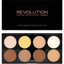 Makeup-Revolution-Ultra-Cream-Contour-Palette-paleta-podkładów-do-konturowania-konturowanie-twarzy-drogeria-internetowa-puderek