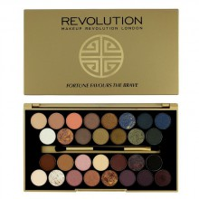 Makeup Revolution Fortune Favours The Brave paleta 30 cieni do powiek