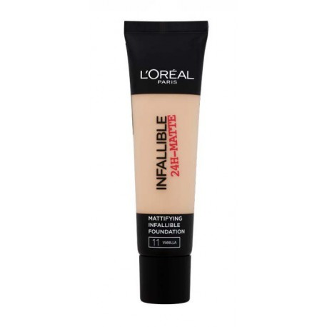 Loreal-Infallible-24H-Matte-11-Vanilla-długotrwały-podkład-matujący-drogeria-internetowa-puderek.com.pl