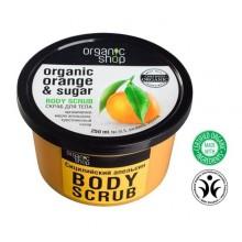Organic Shop Body Scrub peeling do ciała Sycylijska Pomarańcza 250 ml