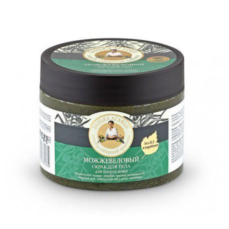 Babuszka-Agafia-jałowcowy-peeling-do-ciała-Tonizujący-300-ml
