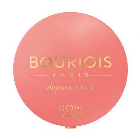Bourjois-Blush-Pastel-43-Corail-Tentation-wypiekany-róż-drogeria-internetowa-puderek.com.pl