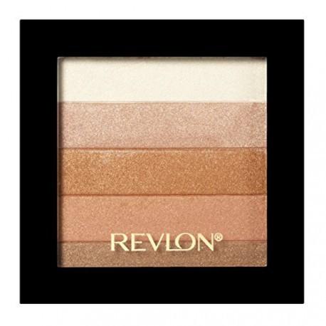Revlon-Highlighting-Palette-030-Bronze-Glow-paleta-rozświetlająca-drogeria-internetowa-puderek.com.pl