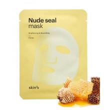 Skin79-Nude-Seal-Mask-Honey-maska-w-płacie-z-miodem-koreańskie-kosmetyki-drogeria-internetowa-puderek.com.pl