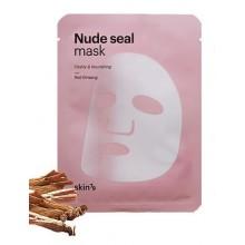 Skin79-Nude-Seal-Mask-Red-Ginseng-maska-w-płacie-z-żeń-szeniem-koreańskie-kosmetyki-drogeria-internetowa-puderek.com.pl