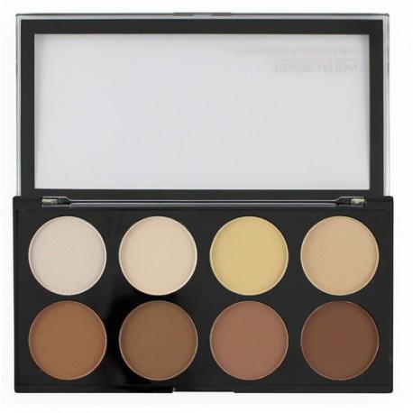 Makeup Revolution Iconic Lights & Contour Pro paleta pudrów do konturowania