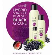 Silcare Soak off Remover - Black Grape - płyn do usuwania hybryd z olejkami 570 ml
