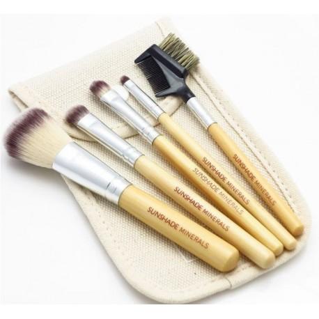 Sunshade-Minerals-LancrOne-zestaw-5-pędzli-do-makijażu-w-etui-SM5C2-drogeria-internetowa-pędzle-do-makijażu-puderek.com.pl