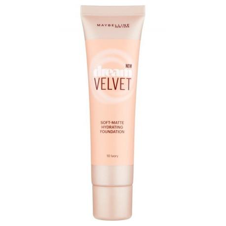 Maybelline-Dream-Velvet-10-Ivory-podkład-matujący-drogeria-internetowa