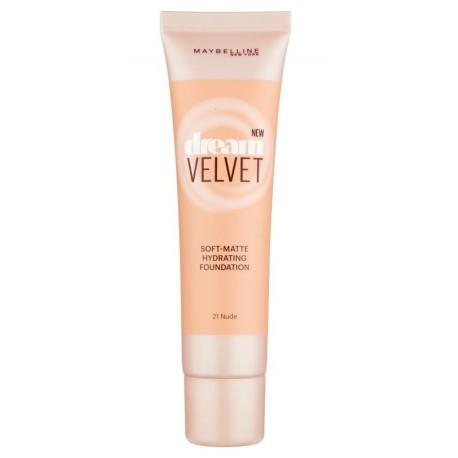 Maybelline-Dream-Velvet-21-Nude-podkład-matujący-drogeria-internetowa