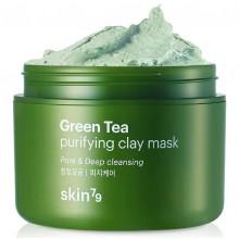 Skin79-Green-Tea-Purifying-Clay-Mask-maska-oczyszczająca-95-ml-koreańskie-kosmetyki-drogeria-internetowa-puderek.com.pl