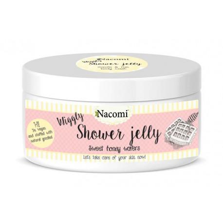 Nacomi-galaretka-do-mycia-ciała-miodowe-wafle-100-g-drogeria-internetowa