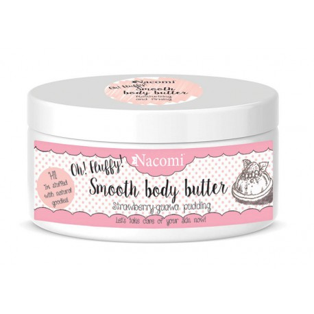 Nacomi-Smooth-Body-Butter-lekkie-masło-do-ciała-truskawkowy-pudding-100-g-drogeria-internetowa
