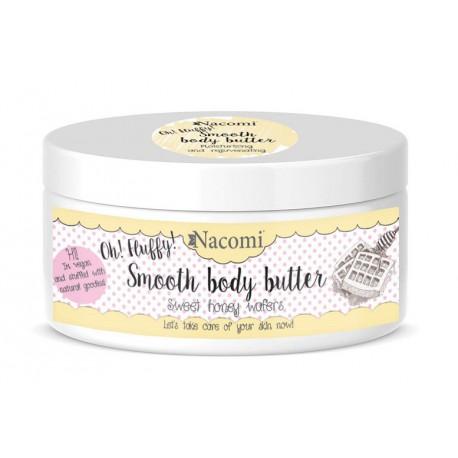 Nacomi-Smooth-Body-Butter-lekkie-masło-do-ciała-miodowe-gofry-100-g-drogeria-internetowa