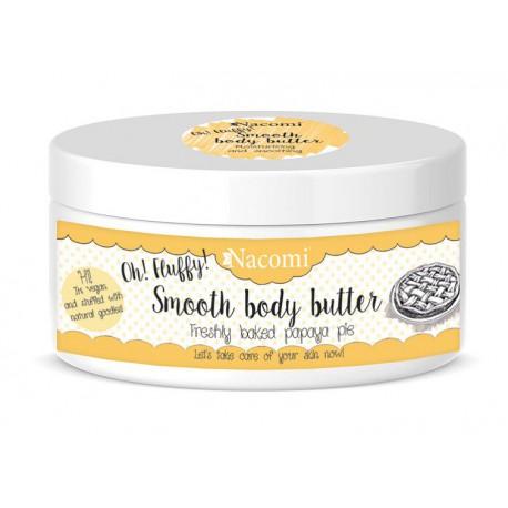 Nacomi-Smooth-Body-Butter-lekkie-masło-do-ciała-świeże-ciasto-z-papają-100-g-drogeria-internetowa