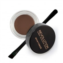 Makeup Revolution Brow Pomade Chocolate pomada do brwi z pędzelkiem