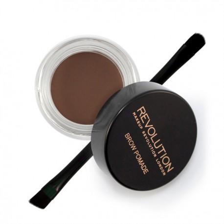 Makeup-Revolution-Brow-Pomade-Chocolate-pomada-do-brwi-z-pędzelkiem-drogeria-internetowa-puderek.com.pl