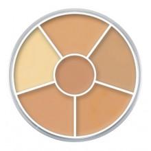 Kryolan-Concealer-Circle-kółko-korektorów-kamuflaży-nr-1-drogeria-internetowa