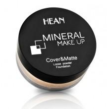Hean Mineral Makeup Sypki podkład mineralny kryjąco-matujący 900 Porcelain