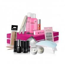 Silcare-Starter-Box-zestaw-startowy-do-manicure-hybrydowego-z-lampą-LED-6W-drogeria-internetowa