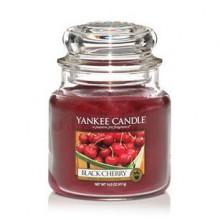 Yankee-Candle-Black-Cherry-słoik-mały-świeca-zapachowa-drogeria-internetowa-puderek.com.pl