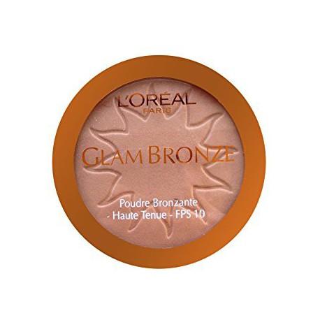Loreal Glam Bronze puder brązujący 03 Caribbean Sun