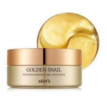 Skin79-Golden-Snail-Intensive-Essence-Gel-Eye-Patch-żelowe-płatki-pod-oczy-ze-śluzem-i-24-k-złotem-koreańskie-kosmetyki-drogeria