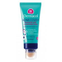 Dermacol Acnecover Make-Up & Corrector 2 podkład z korektorem do cery trądzikowej