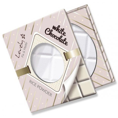Lovely White Chocolate Rice Powder ryżowy puder utrwalający transparentny