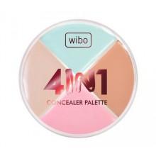 Wibo-4-in-1-Concealer-Palette-paleta-kamuflaż-do-twarzy-drogeria-internetowa-puderek.com.pl