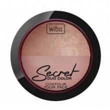 Wibo-Secret-Duo-Color-1-wypiekany-zestaw-bronzer-rozświetlacz-drogeria-internetowa-puderek.com.pl