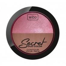 Wibo-Secret-Duo-Color-2-wypiekany-zestaw-bronzer-rozświetlacz-drogeria-internetowa-puderek.com.pl