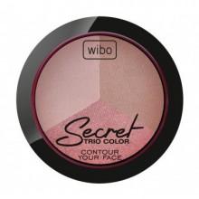 Wibo-Secret-Trio-Color-wypiekany-zestaw-bronzer-rozświetlacz-drogeria-internetowa-puderek.com.pl