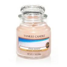 Yankee-Candle-Pink-Sands-słoik-mały-świeca-zapachowa-drogeria-internetowa-puderek.com.pl