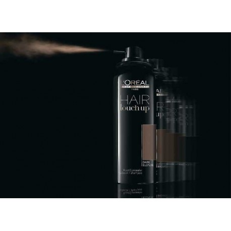 Loreal Hair Touch Up Black spray maskujący odrosty 75 ml