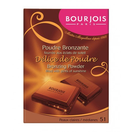 Bourjois Delice de Poudre 51 matowy puder brązujący