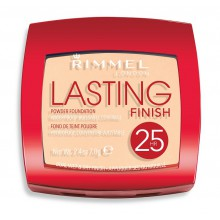 Rimmel Lasting Finish 25h Powder Foundation 002 Soft Beige puder kryjąco-matujący