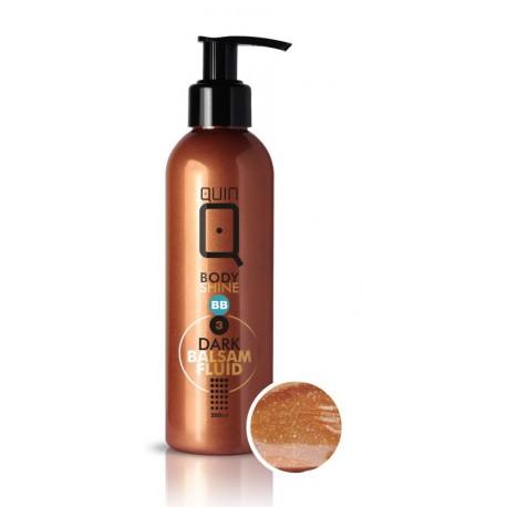 Silcare Quin Fluid BB Body Shine Dark balsam upiększający do ciała 200 ml