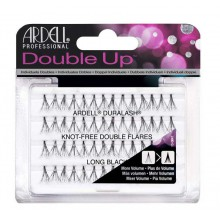 Ardell Knot - free Individual Lashes Double Up Long kępki sztucznych rzęs Black