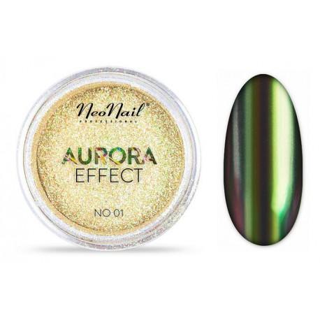 Neonail Aurora Effect 01 pyłek do paznokci 2 g