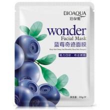 Bioaqua-Wonder-Facial-Mask-maska-w-płacie-z-ekstraktem-z-borówki-drogeria-internetowa