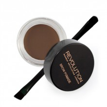 Makeup-Revolution-Brow-Pomade-Dark-Brown-pomada-do-brwi-z-pędzelkiem-drogeria-internetowa-puderek.com.pl