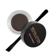 Makeup-Revolution-Brow-Pomade-Ebony-pomada-do-brwi-z-pędzelkiem-drogeria-internetowa-puderek.com.pl