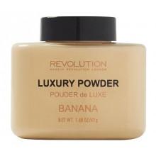 Makeup Revolution Luxury Banana Powder sypki puder utrwalający