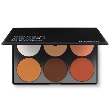 BH Cosmetics Contour & Blush 2 Palette paleta do konturowania